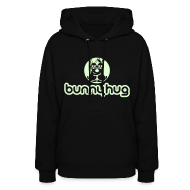Hoodies ~ Women's Hoodie ~ Glow in the Dark BunnyHug