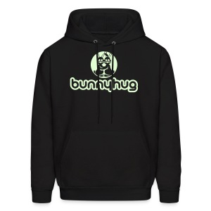 Glow in the Dark BunnyHug - Men's Hoodie