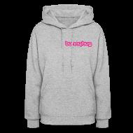Hoodies ~ Women's Hooded Sweatshirt ~ Neon Pink BunnyHug