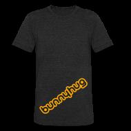 T-Shirts ~ Unisex Tri-Blend T-Shirt ~ Men's Vintage T with BunnyHug