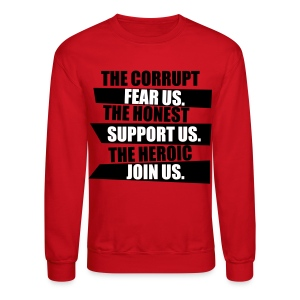 Corruption Crewneck - Crewneck Sweatshirt