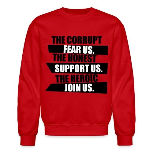 Corruption Crewneck - Crewneck Sweatshirt