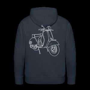 Motor scooter - Men's Premium Hoodie
