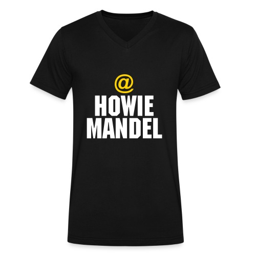 @HowieMandel Seen on AGT - Men's V-Neck T-Shirt by Canvas