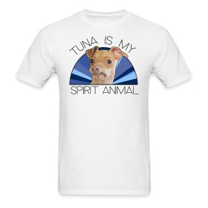 Tuna is my Spirit Animal Men's Tee (Holiday Blue) - Men's T-Shirt
