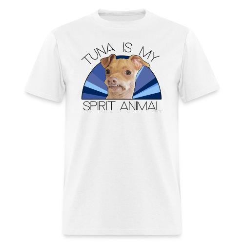 Tuna is my Spirit Animal Men's Tee (Holiday Blue) - Men's T-Shirt
