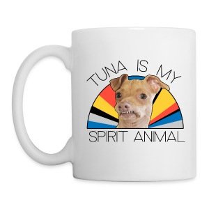 Tuna is my Spirit Animal Ceramic (His) - Coffee/Tea Mug