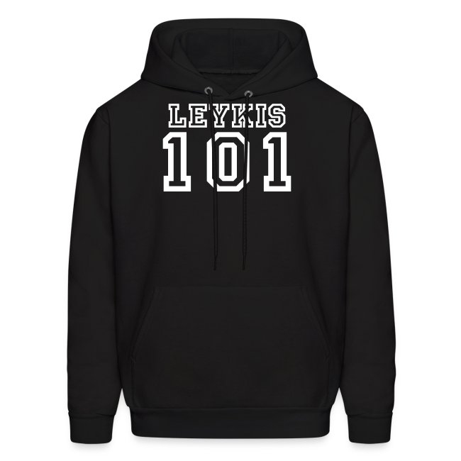 S M L XL XXL Leykis 101 Hoodie