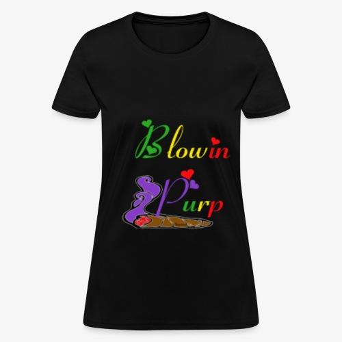 Blowin Purp Women's Tee - Women's T-Shirt