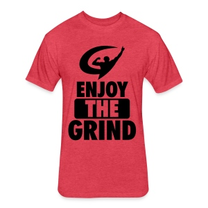 EnjoyTheGrind | Redblacks - Fitted Cotton/Poly T-Shirt by Next Level