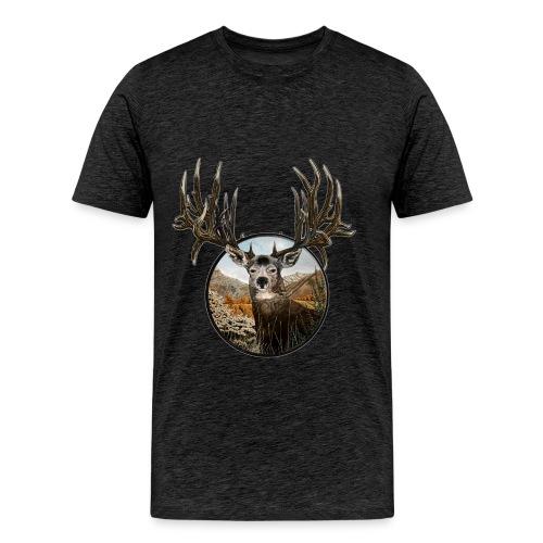 Big big buck - Men's Premium T-Shirt