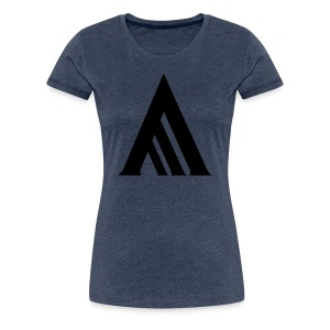 Starcadian White Mountain Black (Female) - Women's Premium T-Shirt