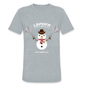 LSPDFR Snowman Tee - Unisex Tri-Blend T-Shirt