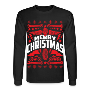 Ugly Christmas Sweater Motorcycle