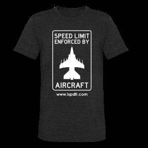 Enforced by Aircraft - Unisex Tri-Blend T-Shirt