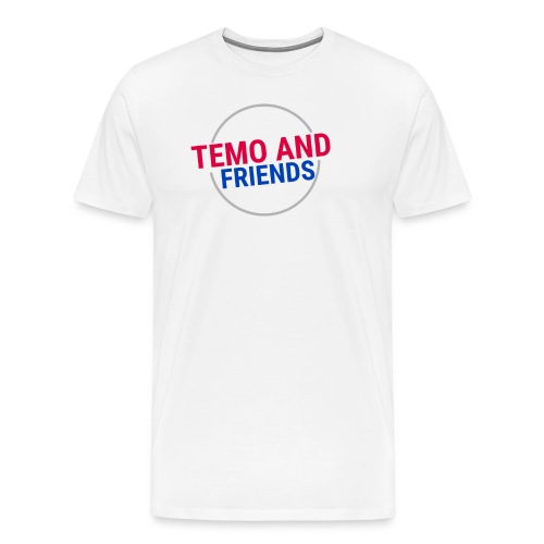 Temo and Friends the Vlog - Men's Premium T-Shirt