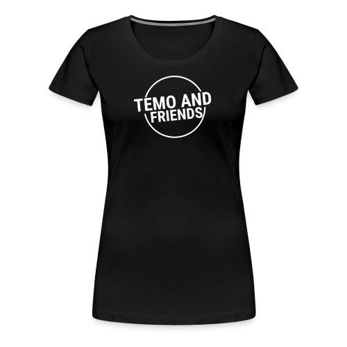 Temo and Friends the Vlog - Women's Premium T-Shirt