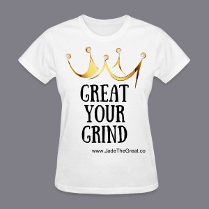 Great Your Grind Support Tee White - Women's T-Shirt
