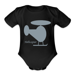 Hellicopter - Short Sleeve Baby Bodysuit