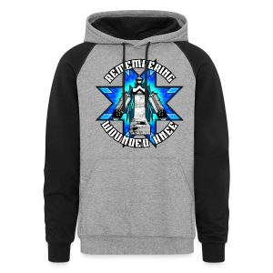 Remembering Wounded Knee Hoodie - Colorblock Hoodie