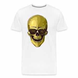 Golden Skull - Men's Premium T-Shirt