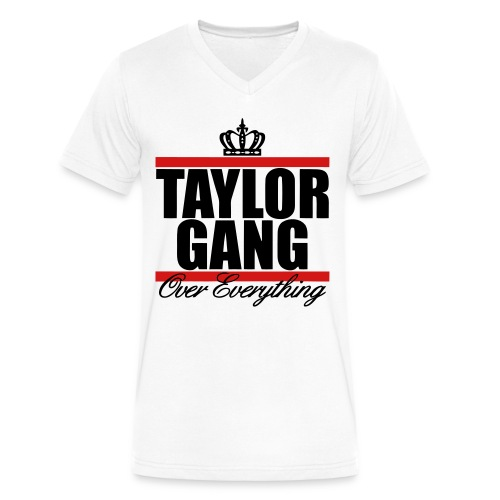 Taylor Gang Over Everything - Men's V-Neck T-Shirt by Canvas