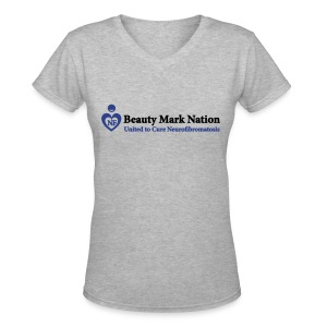 Beauty Mark Nation Women's T-shirt - Women's V-Neck T-Shirt