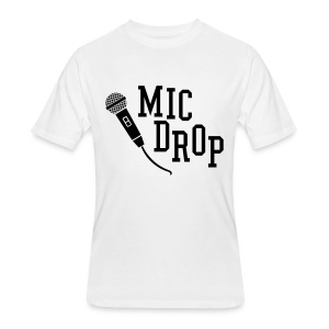 MIC DROP - Men's 50/50 T-Shirt