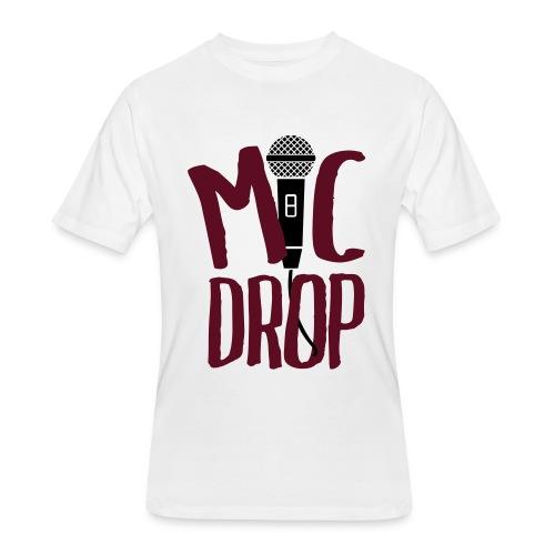 MIC DROP - Men's 50/50 T-Shirt