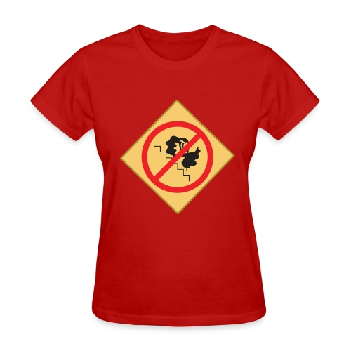 NO CELESTIA ON THE STAIRS - Women's T-Shirt