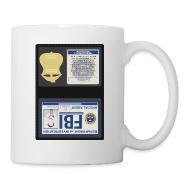 Mugs & Drinkware ~ Coffee/Tea Mug ~ Castiel Also FBI
