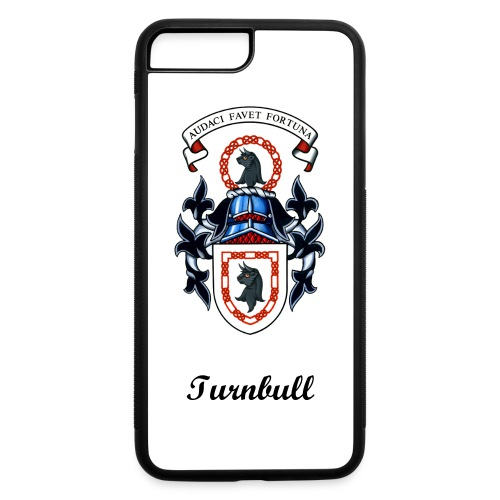 Turnbull Coat of Arms Rubber iPhone Case 7/8 Plus - iPhone 7 Plus/8 Plus Rubber Case