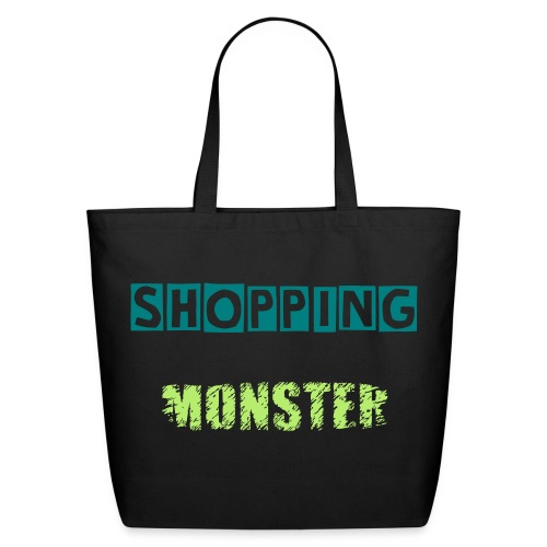 Shopping Monster - Eco-Friendly Cotton Tote