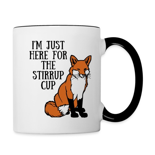 Stirrup Cup - Contrast Coffee Mug