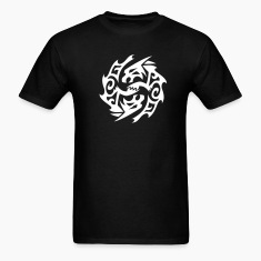 Wolf Circle Tribal Tattoo 1 T-Shirts
