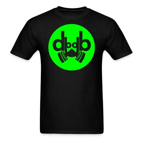 Dubstep Music Logo Men's T-shirt - Men's T-Shirt