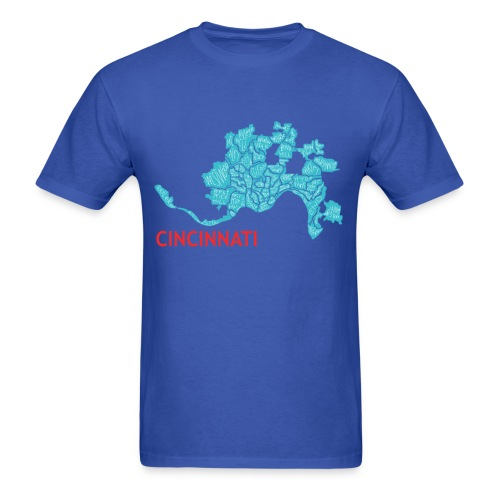 Cincinnati Neighborhood Tshirt - Men's T-Shirt