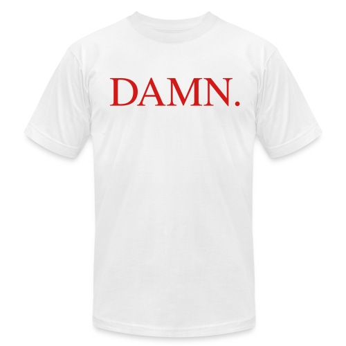 Damn  - Men's Fine Jersey T-Shirt
