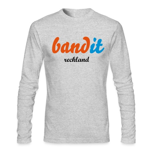 bandit - Men's Long Sleeve T-Shirt by Next Level
