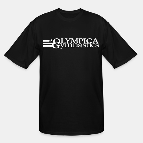 Men's Black T-Shirt: Tall - Men's Tall T-Shirt
