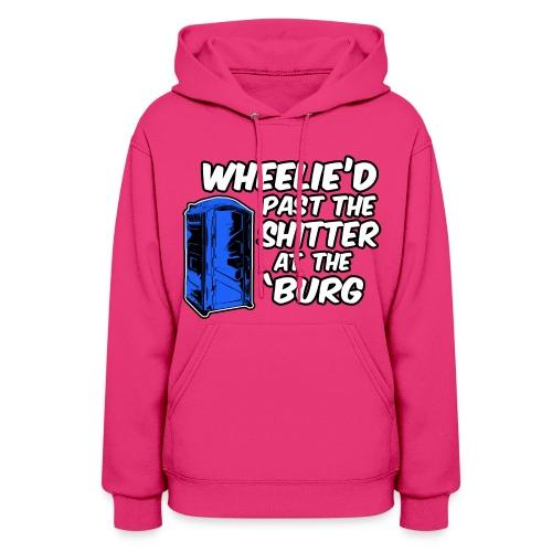 I Wheelie Got To Poop Womens Hoodie - Women's Hoodie