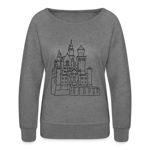 Neuschwanstein Castle - Women's Crewneck Sweatshirt