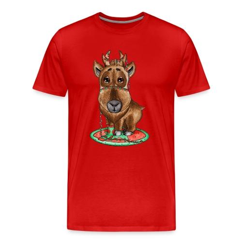 Reindeer refined scribblesirii - Men's Premium T-Shirt