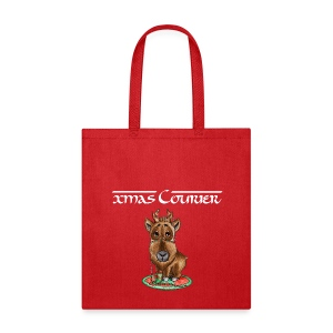 xmas courier bag scribblesirii - Tote Bag