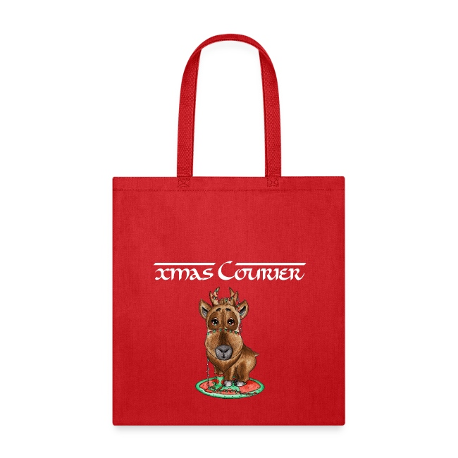xmas courier bag scribblesirii