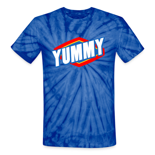 Men's Yummy Tie Dye T-Shirt - Unisex Tie Dye T-Shirt