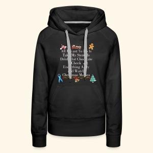 Addisons Disease Funny Christmas Sweater - Women's Premium Hoodie