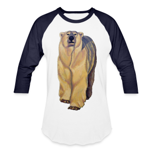 Polar Bear Art Shirts - Men's Baseball Jersey - Baseball T-Shirt