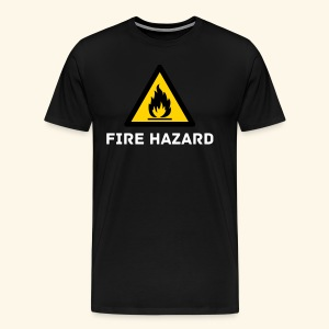 Fire Hazard t-shirt - Men's Premium T-Shirt