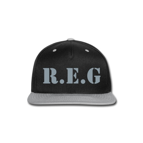 REG Fitted Hat - Snap-back Baseball Cap
